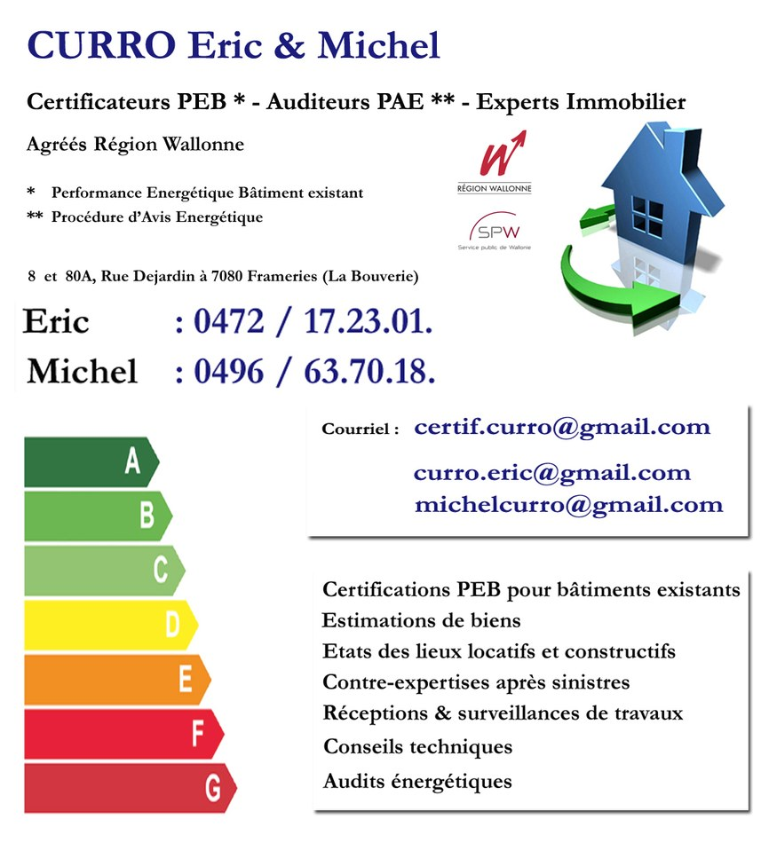 Curro Michel - certificateur PEB